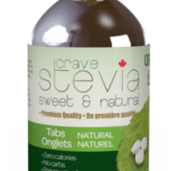 Stevia naturel 100 tablettes