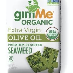 GIMME Biologique Grilled Seaweed in Olive Oil 5g