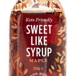 GOOD GOOD Maple Flavour Syrup 250g