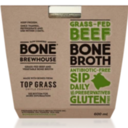 BONE BREWHOUSE Beef Broth Feeds with Grass 600ml