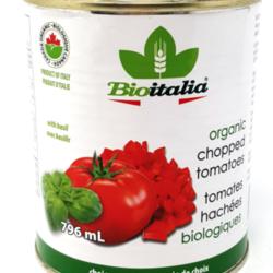 BIOITALIA Tomates Hachées Basilic Bio 796ml
