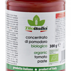 BIOITALIA Organic tomato paste 300 ml