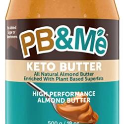 PB&ME KETO BUTTER Beurre d'Amande à Haute Performance 500g