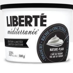 LIBERTÉ Méditerranée Yogourt 10% 500g