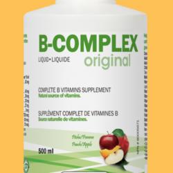 LAND ART B-COMPLEX Original Full Vitamin B Supplement Peach/Apple Flavour 500ml