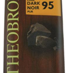 THEOBROMA Dark Chocolate 95% 80g