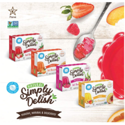 SIMPLY DELISH Jelly Dessert 20g (4 flavours)