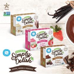 SIMPLY DELISH Pudding Instantané 48g (3 saveurs)