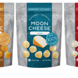 MOON CHEESE Crunchy cheese 57g (3flavours)