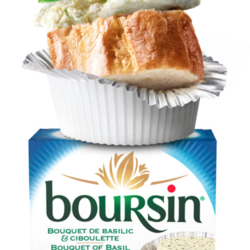 BOURSIN Fresh cheese 150g (2 flavours)