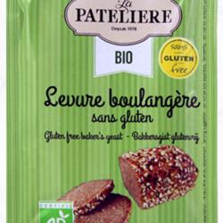 LA PATELIÈRE Levure Boulangère San Gluten 3x9g