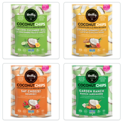 HEALTHY CRUNCH Coconut Chips (several flavours)