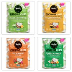 HEALTHY CRUNCH Croustilles de Noix de Coco (plusieurs saveurs)