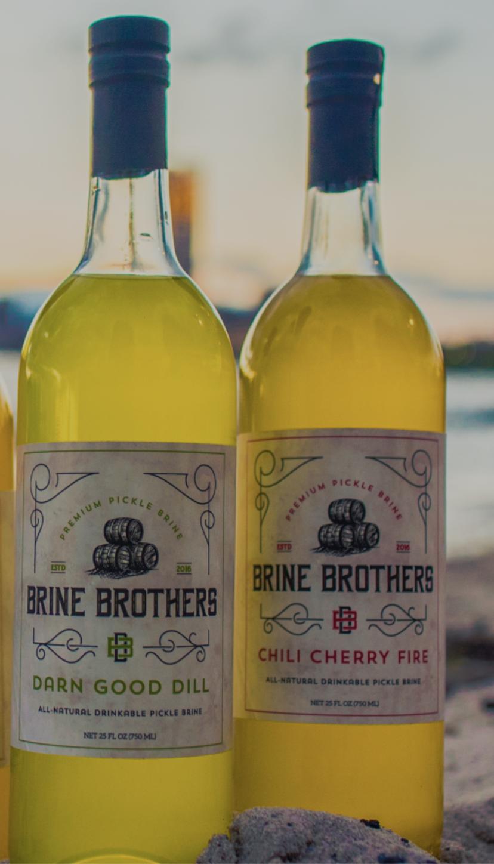 BRINE BROTHERS Jus de Pickel 750ml (2 saveurs)