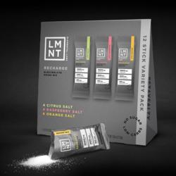LMNT Électrolyte Drink Mix boîte de 12 (3 saveurs)