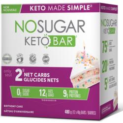 NO SUGAR Bars Box (several flavors)12x40g