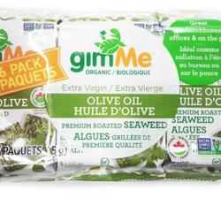 GIMME Algues Grillés à l'Huile d'Olive 6x5g