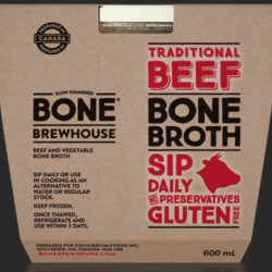 BONE BREWHOUSE Traditional Beef Broth 600ml