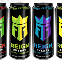 REIGN ENERGY Energy Drinks 473ml (4 flavours)