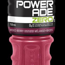 POWERADE 0 Sugar 710ml (3 flavours)
