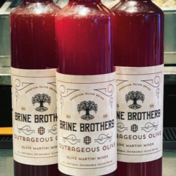 BRINE BROTHERS olive juice 500ml
