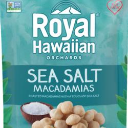 ROYAL HAWAIIAN Noix de Macadames  Sel de Mer 113g