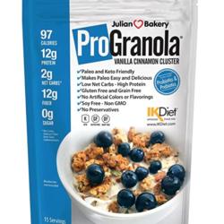 JULIAN BAKERY Pro Granola (2 saveurs)
