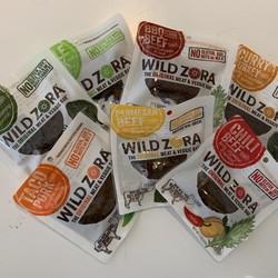 WILD ZORA Dried meat (7 flavours)