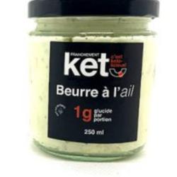 FRANCHEMENT KETO Beurre à l'Ail 250ml