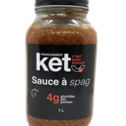 FRANCHEMENT KETO Sauce à Spaghetti 1L