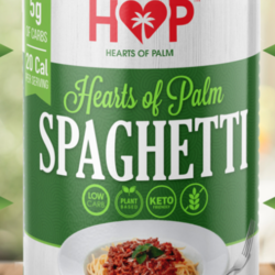 HOP HEART OF PALM Spaghetti cœurs de palmier 400g