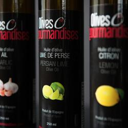 OLIVES & GOURMANDISES Huiles d'Olive 250ml (plusieurs saveurs)