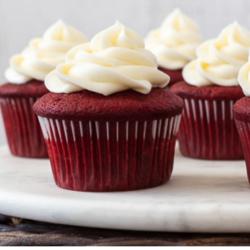 KETO CLUB Cupcakes Red velvet ( 6 )