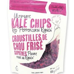 SOLAR RAW FOODS Croustilles de Chou Frisé Suprêmes (6 saveurs) 100g