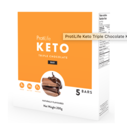 PROTILIFE KETO Barre Triple Chocolat (bte 5)