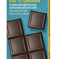COCOALICIOUS Dark chocolate 80% without added sugar 70g