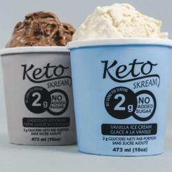 KETO SKREAM Crème Glacée 473ml (plusieurs saveurs)