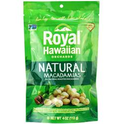 ROYAL HAWAIIAN Natural Macadamias unsalt