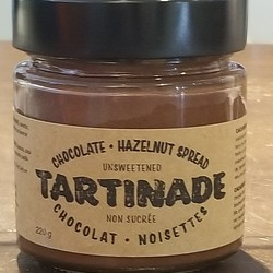 Chocolate hazelnut spread unsweetened 220g