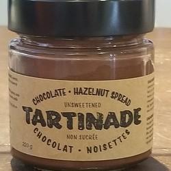 Tartinade chocolat et noisettes non sucré 220g