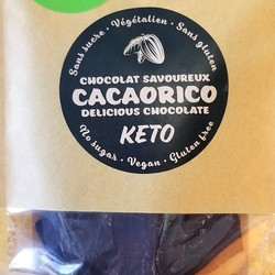 Chocolat noir 85% à l'orange 70g