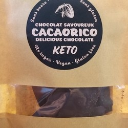 Chocolat noir 85% à la menthe 70g