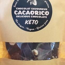 Chocolat noir 85% chaï et noisettes 70g