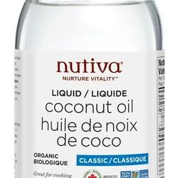 NUTIVA huile de noix de coco 473 ml