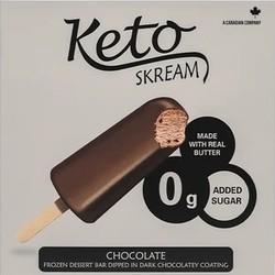 KETO SKREAM Barres glacées 300g (2 saveurs)