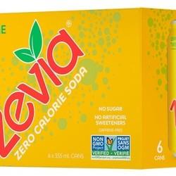 ZÉVIA Zero calorie soda 355 ml (6)