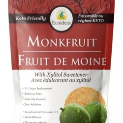ECOIDEAS Monkfruit with Xylitol sweetener  227g
