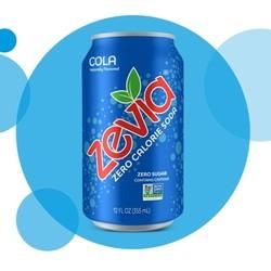 ZEVIA Eau pétillante aromatisée zéro calorie 355 ml