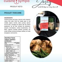 Josey Arsenault Repas Poulet Toscane 350g