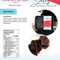 Josey Arsenault Dessert Brownies 350g